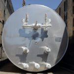 Отгрузка горизонтального резервуара для хранения жидкой двуокиси углерода РДХ-20,0-2,0
