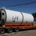 Отгрузка вертикального резервуара для хранения жидкой двуокиси углерода РДХ-30,0-2,0