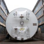 Отгрузка горизонтального резервуара для хранения жидкой двуокиси углерода РДХ-8,0-2,0