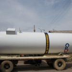 Отгрузка горизонтального резервуара для хранения жидкой двуокиси углерода РДХ-20-2,0
