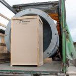 Отгрузка заказчику второго аналогичного вертикального резервуара для хранения жидкой двуокиси углерода РДХ-20-2,0