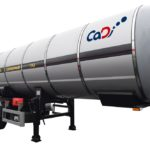 Полуприцеп-цистерна для транспортировки жидкой двуокиси углерода ЦЖУ-25,0