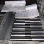 На выходе из производства новая партия гидроцилиндров (30 штук) для углекислотно-зарядной станции СЗУ-800 и ее модификаций