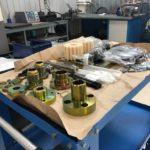 Новая партия шестеренных насосов (30 штук) для станции перелива жидкой углекислоты СПУ 10/50